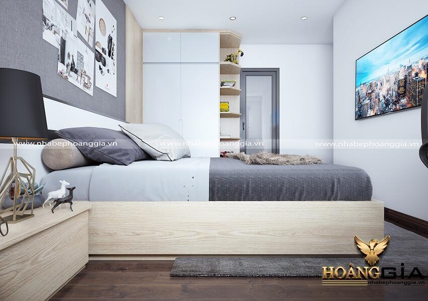 thiết kế phòng ngủ hiện đại