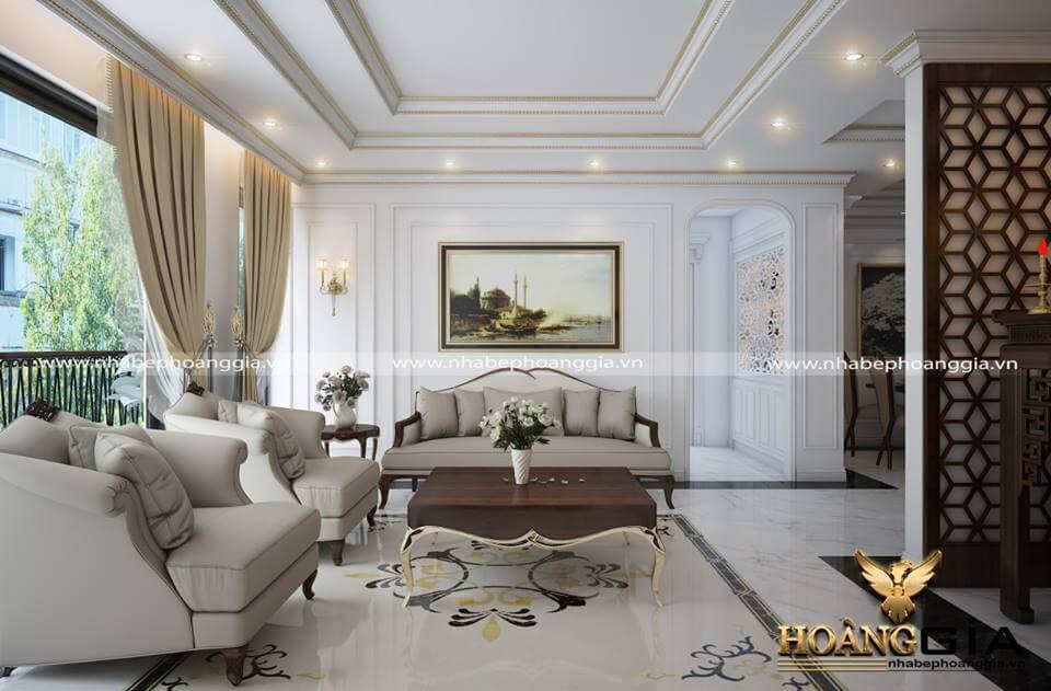 Một mẫu thiết kế nội thất đẹp đơn giản