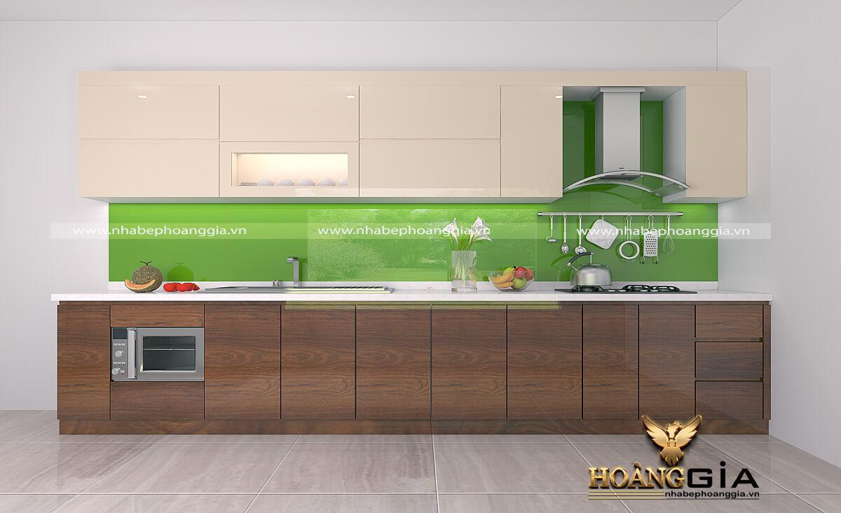màu sắc tủ bếp