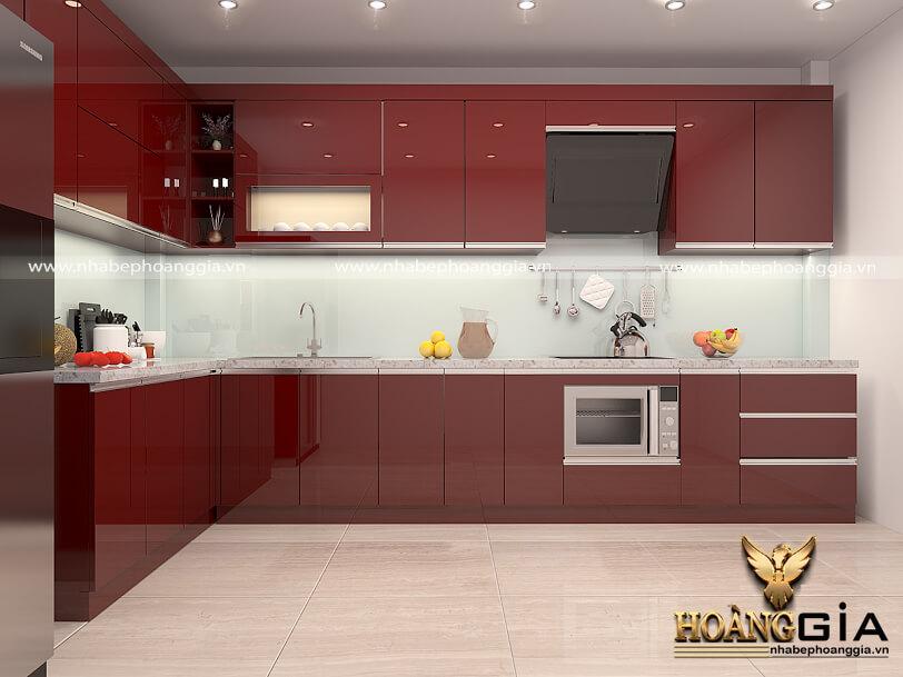 màu sắc tủ bếp hiện đại