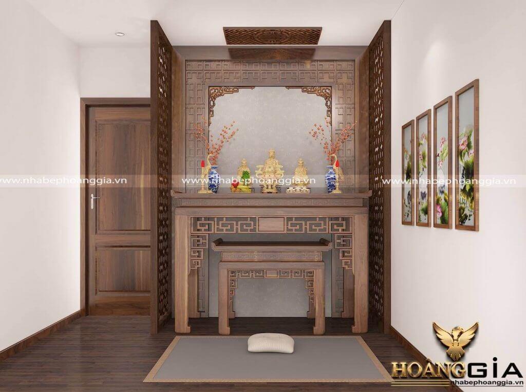 vị trí đặt bàn thờ trong nhà chung cư
