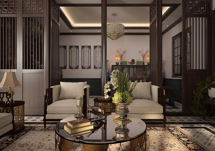 phong cách thiết kế Indochine