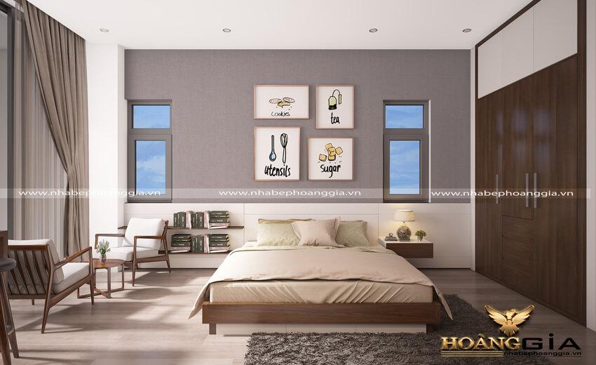 thiết kế phòng ngủ đẹp hợp phong thủy
