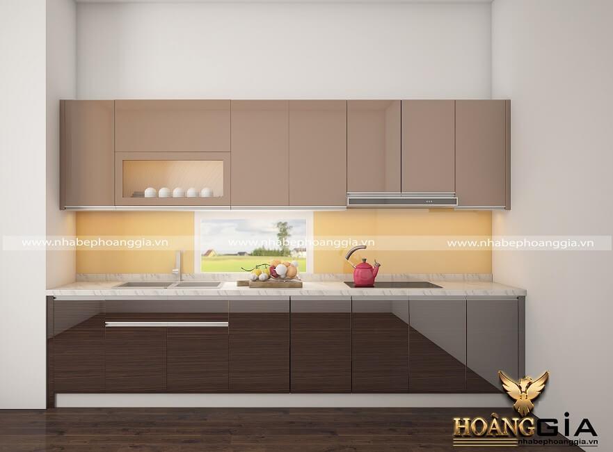 cách vệ sinh tủ bếp Acrylic