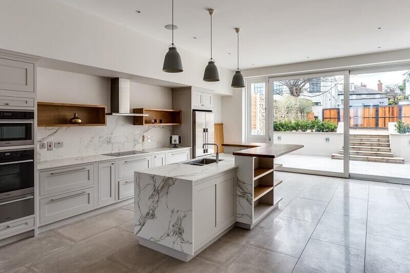 hình ảnh nhà bếp đơn giản