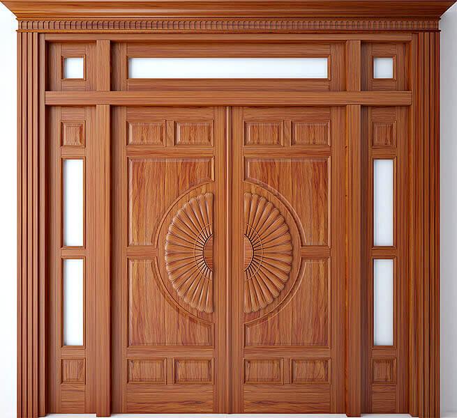 kích thước cửa chính