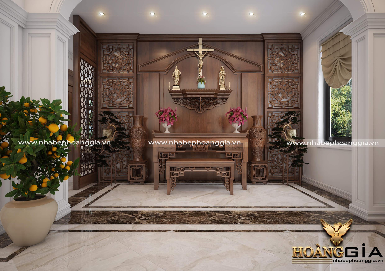 lưu ý khi thiết kế phòng thờ