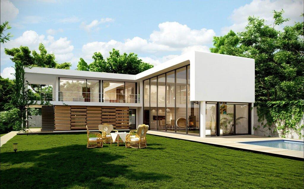 xây biệt thự nhà vườn