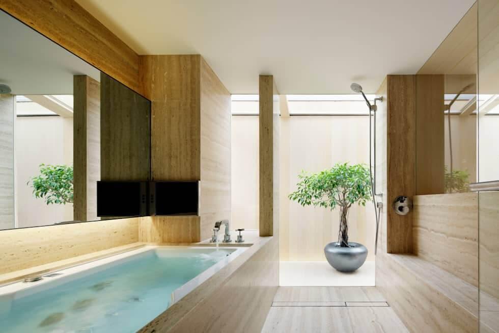 mẫu nhà tắm đẹp sang trọng 2019