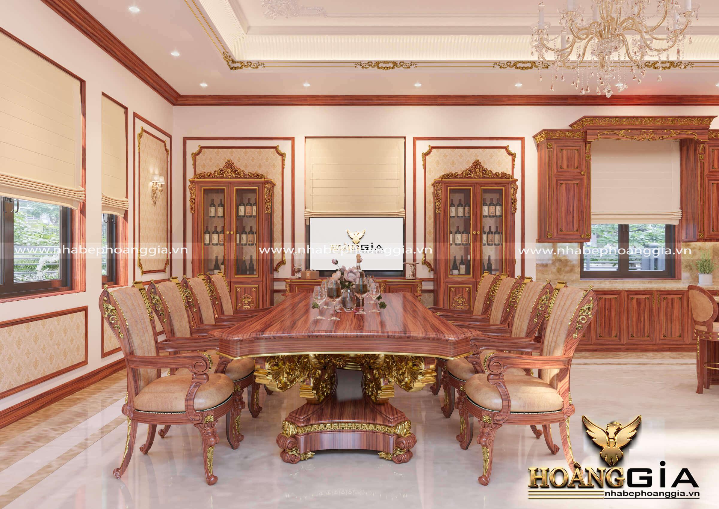 mẫu phòng ăn đẹp cho nhà biệt thự