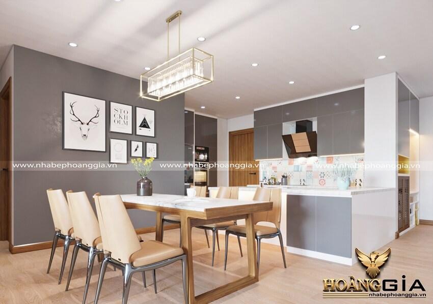 mẫu phòng ăn đẹp cho nhà chung cư