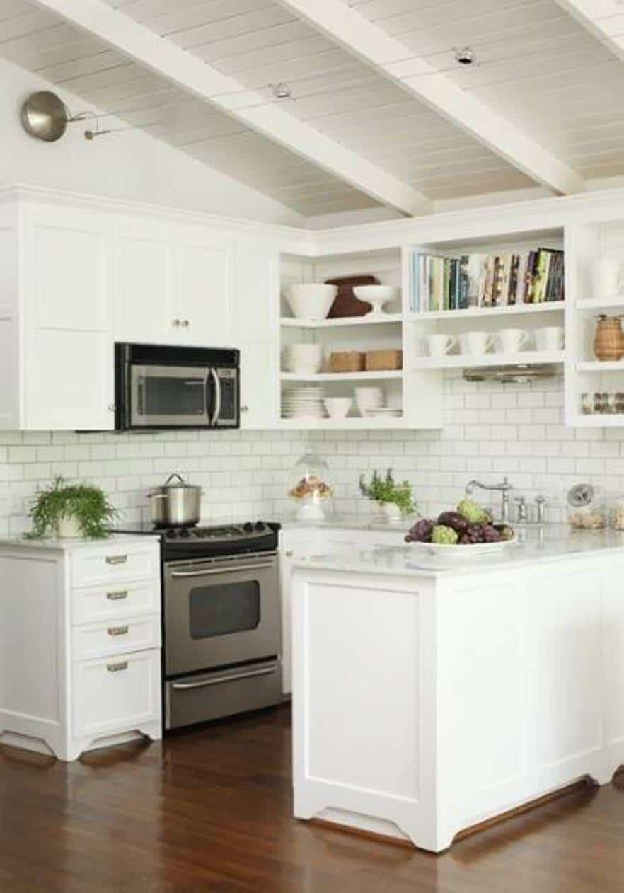 mẫu thiết kế tủ bếp cho gian bếp nhỏ