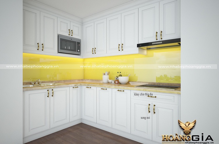 mẫu tủ bếp đẹp cho nhà chung cư