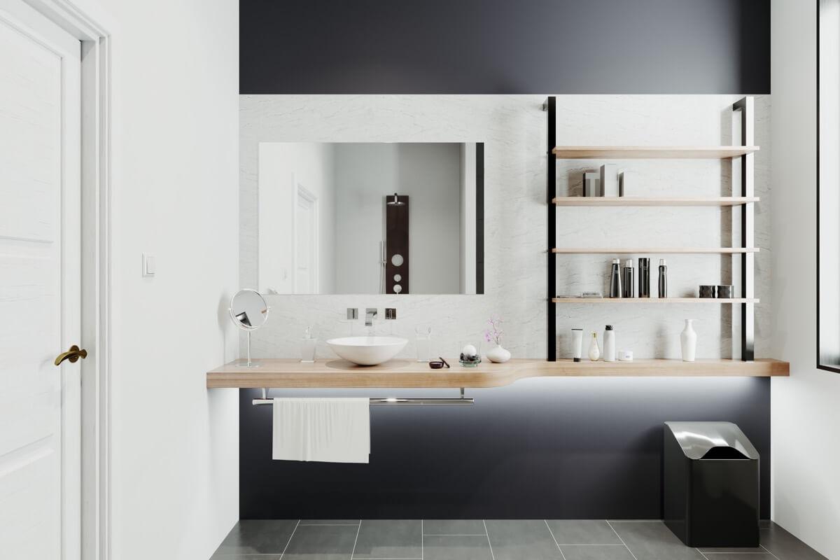 nâng cấp thiết kế phòng tắm
