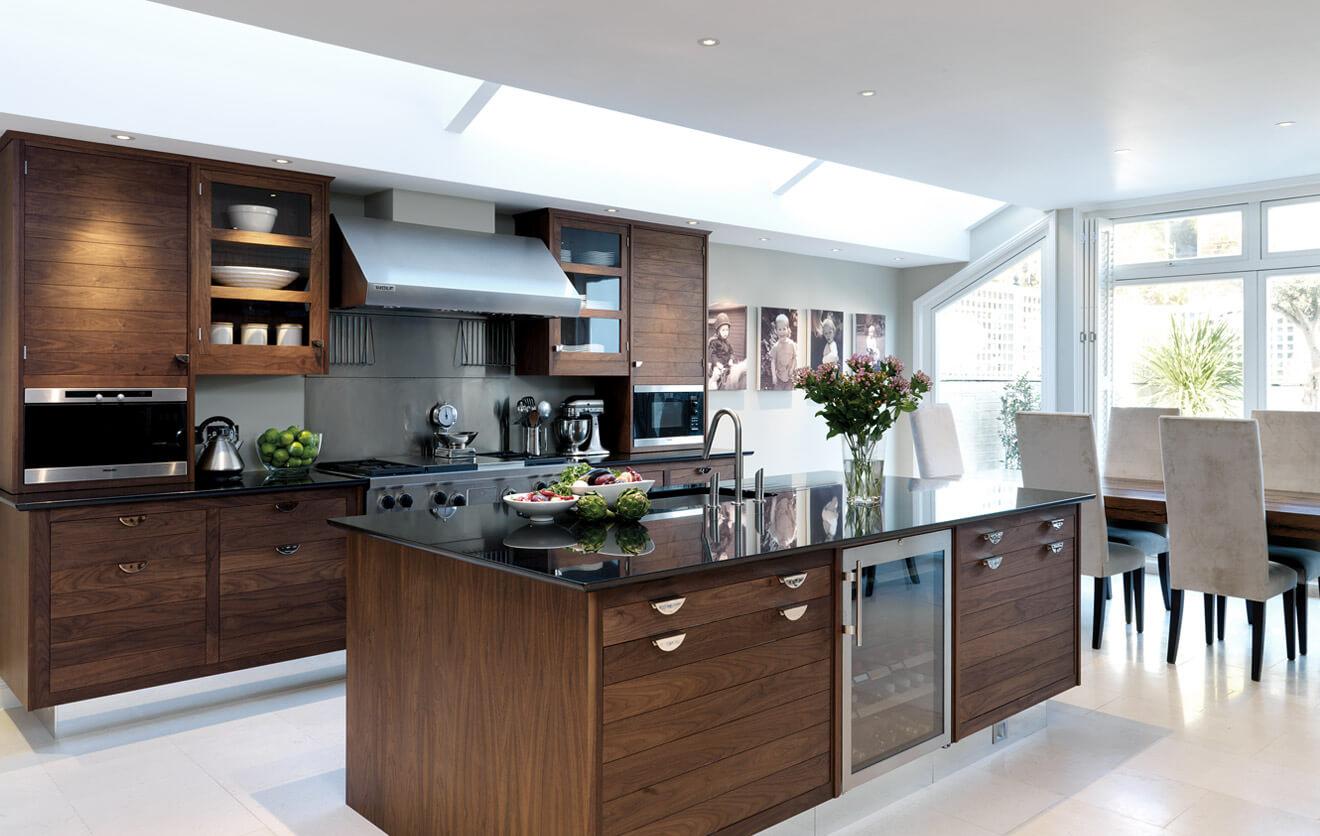 nên làm tủ bếp bằng gỗ gì