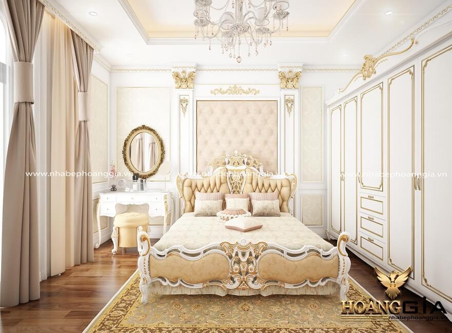 nguyên tắc thiết kế phòng ngủ tân cổ điển