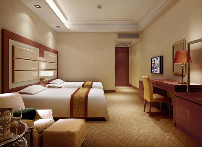thiết kế nội thất khách sạn 3 sao