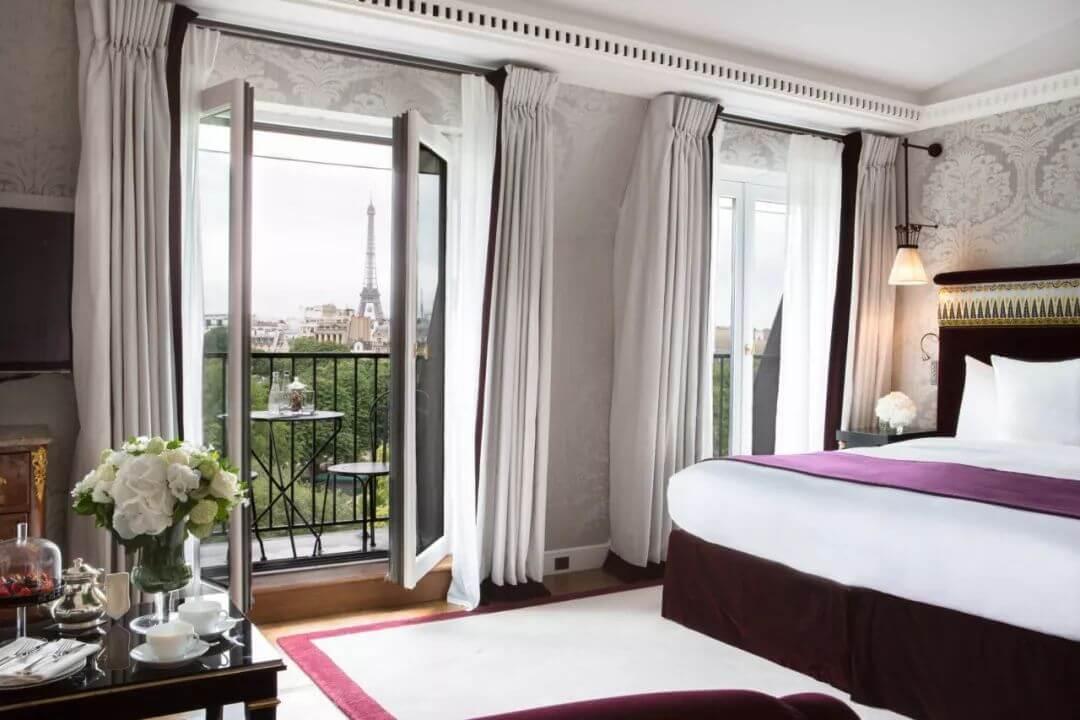 nội thất phòng ngủ khách sạn 5 sao