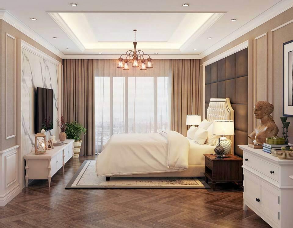 thiết kế nội thất nhà ống tân cổ điển