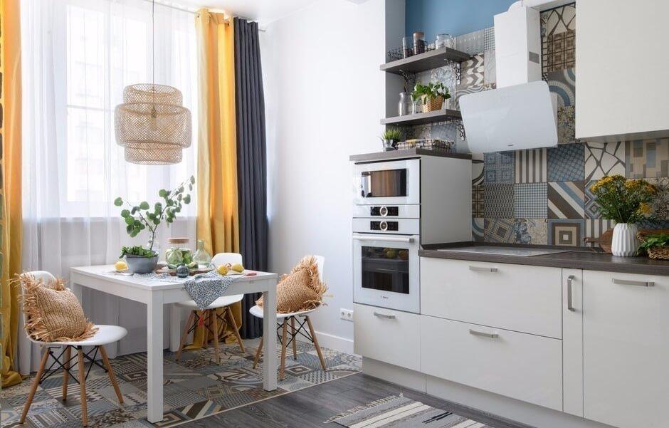 trang trí tường bếp đẹp