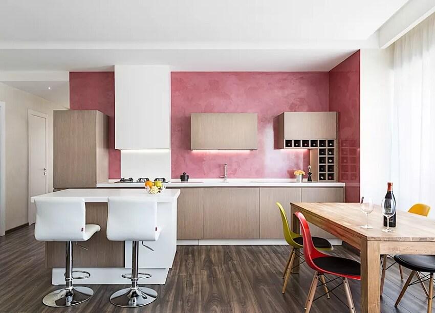 vật liệu ốp tường bếp