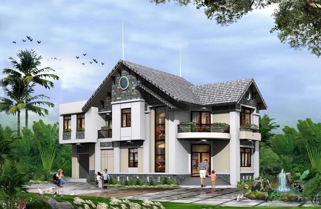 xu hướng thiết kế biệt thự nhà vườn