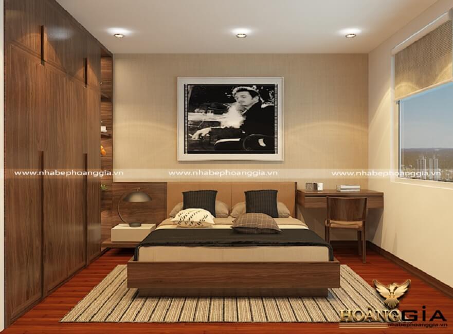 diện tích phòng ngủ
