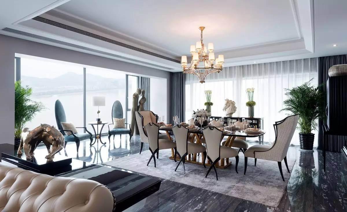 phong cách thiết kế nội thất sang trọng Christopher Guy