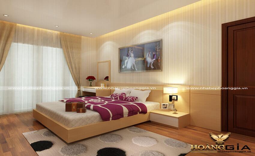 phòng ngủ hiện đại 20m2