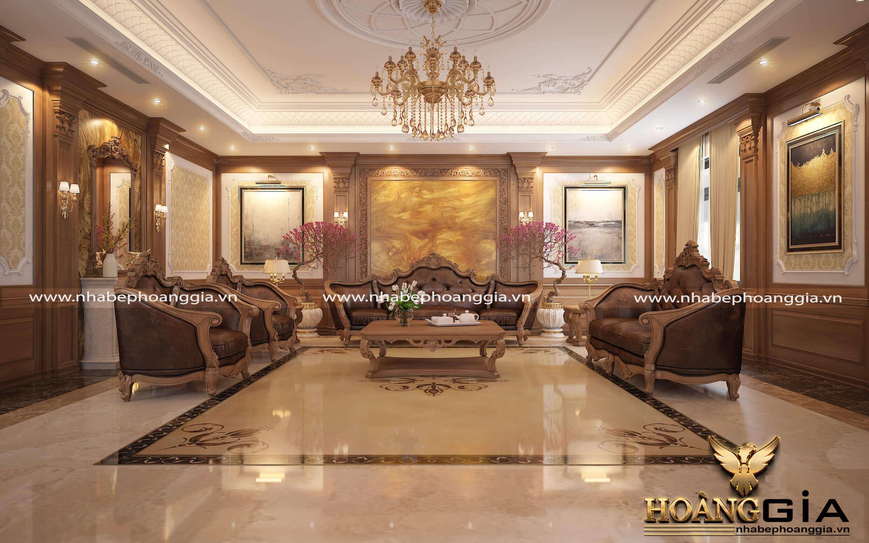 sofa phòng khách tân cổ điển