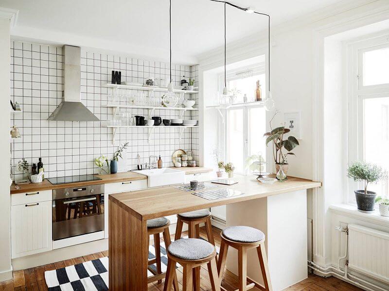 tân trang nhà bếp