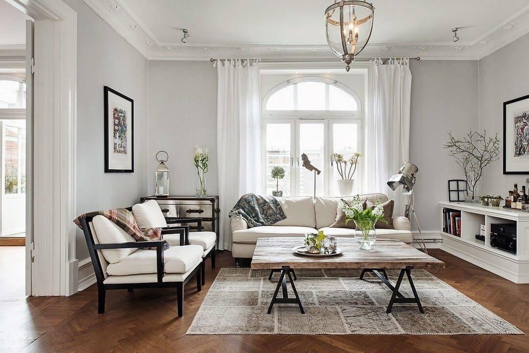 thiết kế chung cư phong cách Scandinavian
