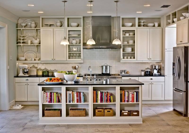 thiết kế kệ tủ bếp