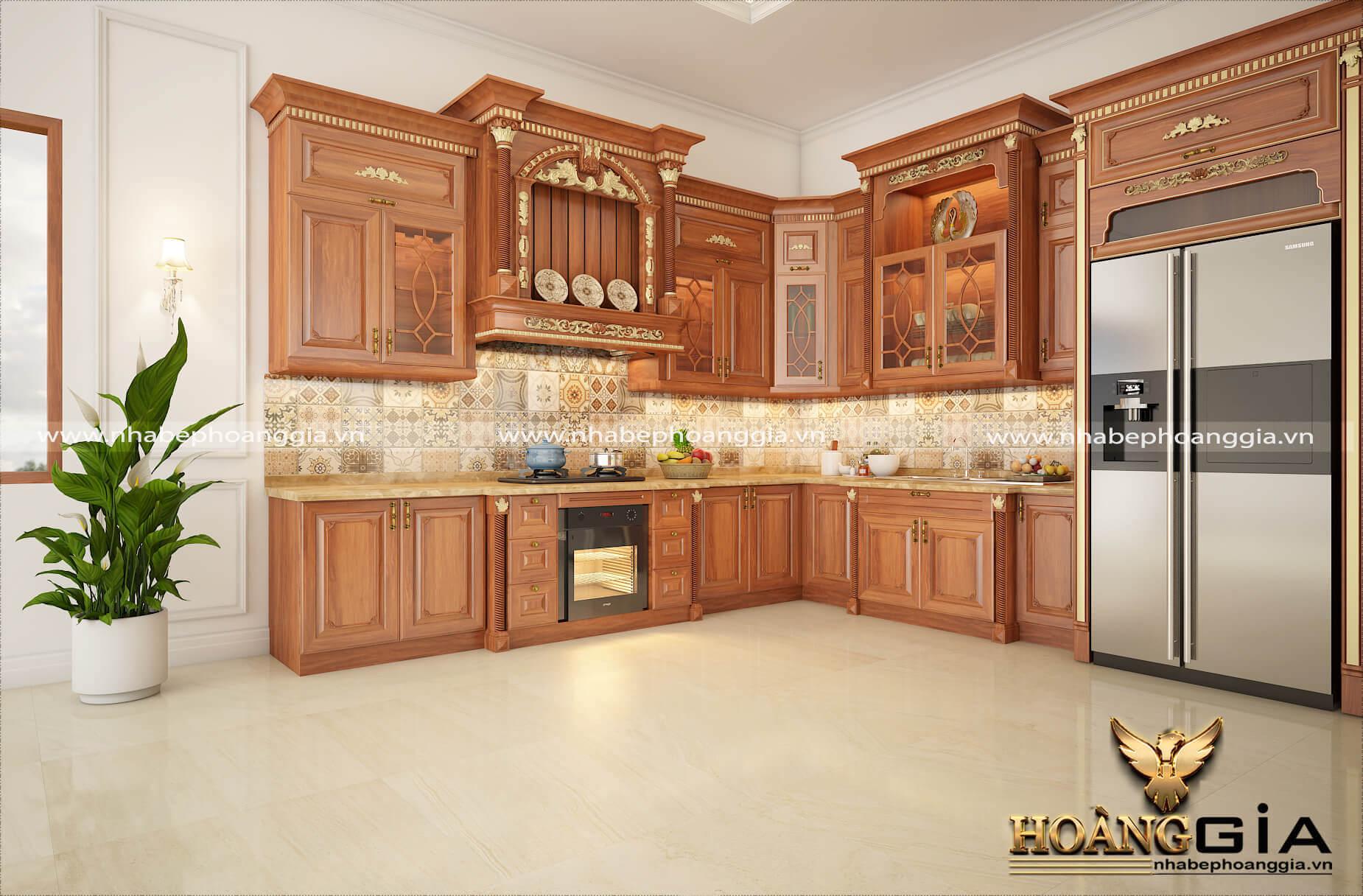 thiết kế nhà bếp đẹp
