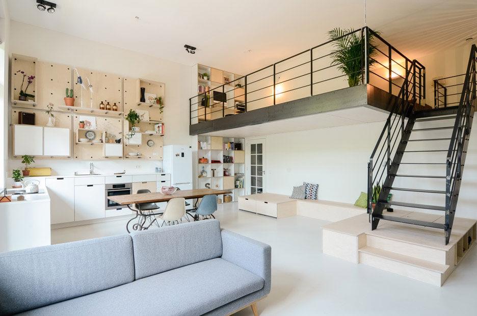 thiết kế nhà có gác lửng