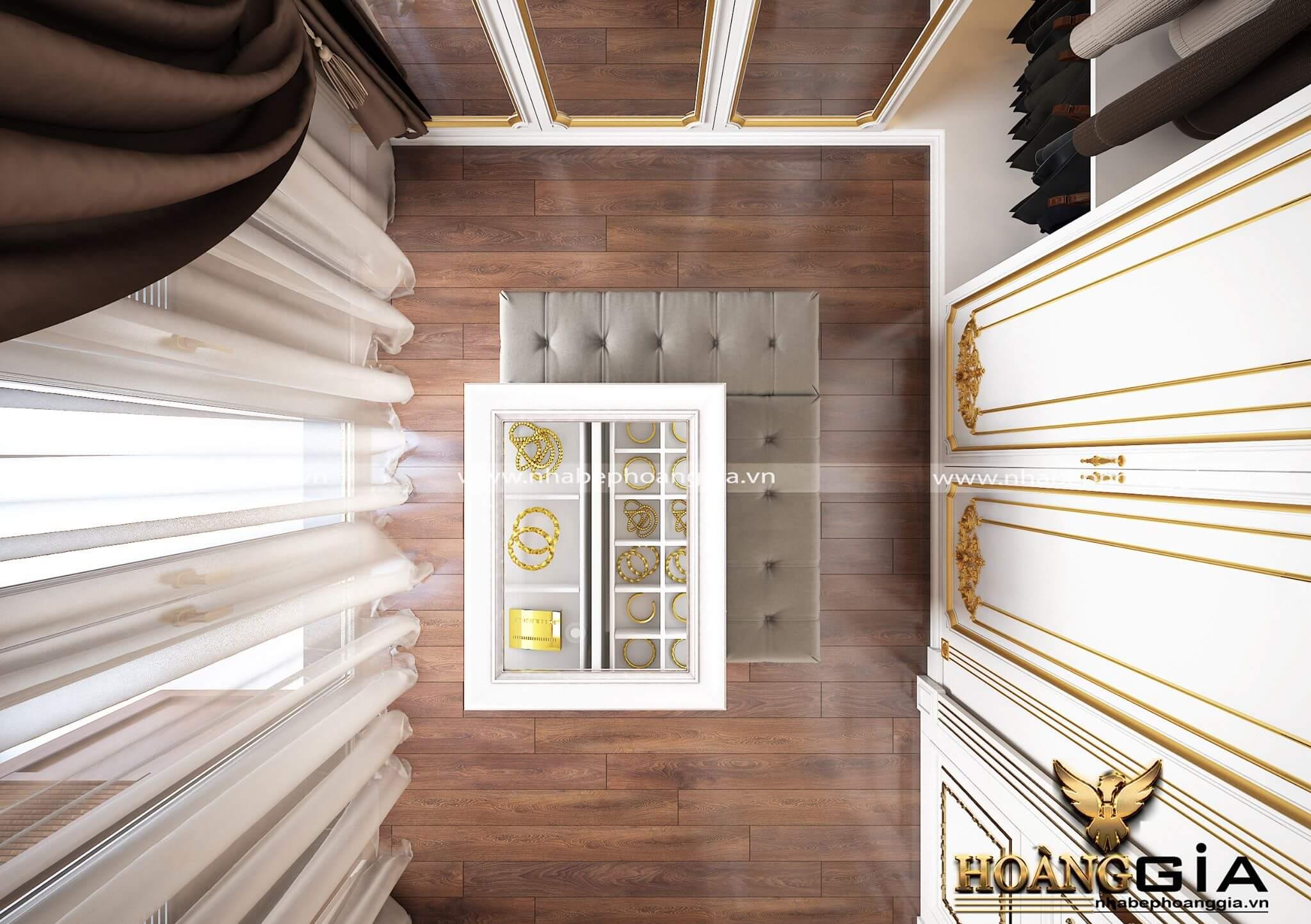 thiết kế nội thất phòng ngủ cao cấp