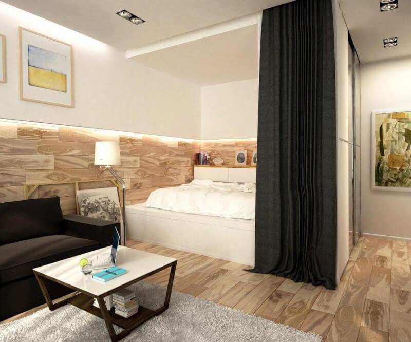 bố trí nội thất căn hộ nhỏ
