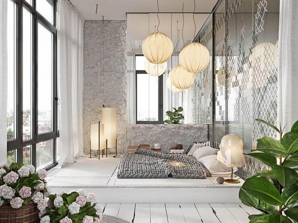 mẫu phòng ngủ đẹp cho nữ