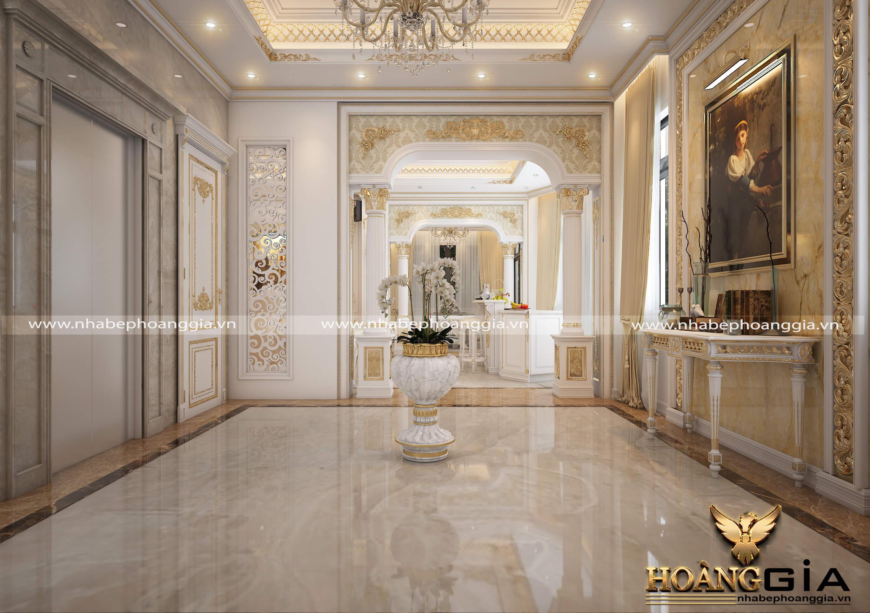 mẫu thiết kế nội thất biệt thự Hải Phòng đẹp