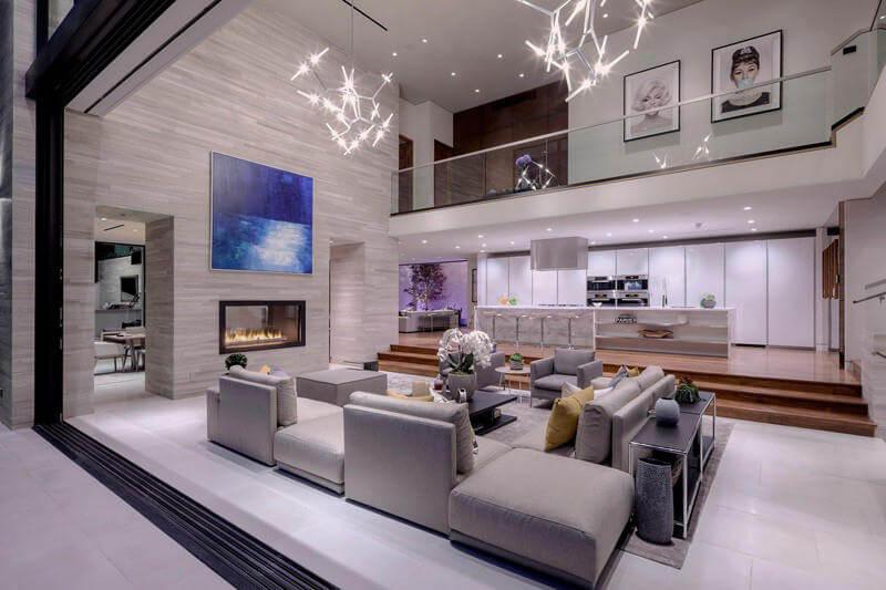 mẫu thiết kế nội thất Penhouse
