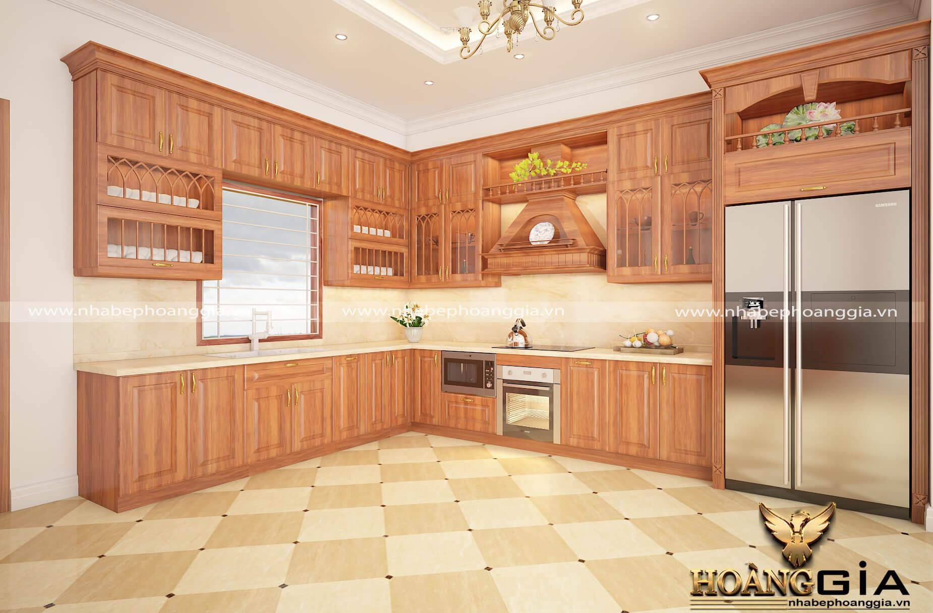 nên dùng tủ bếp nhựa hay gỗ