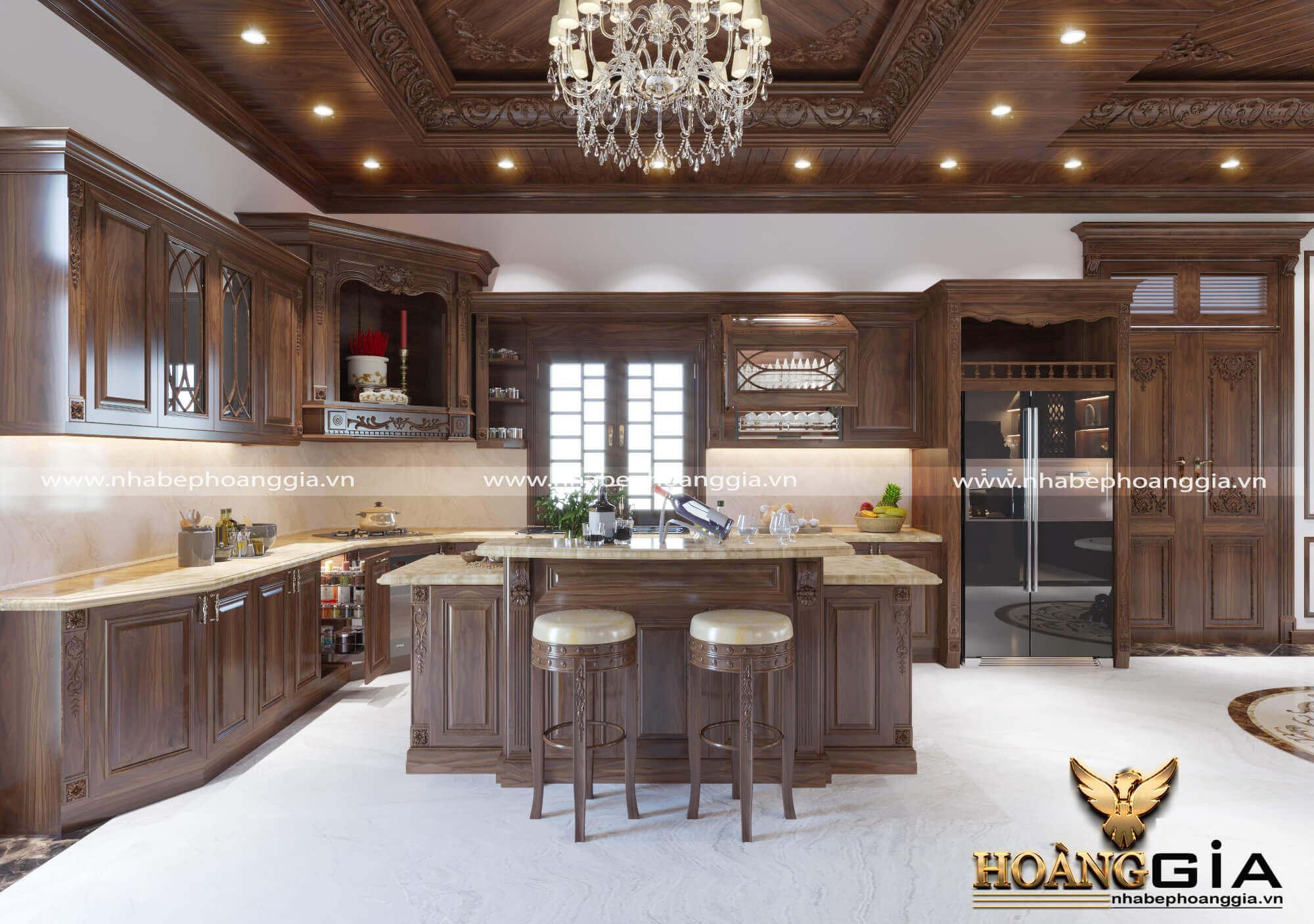 phòng bếp bao nhiêu m2 là hợp lý
