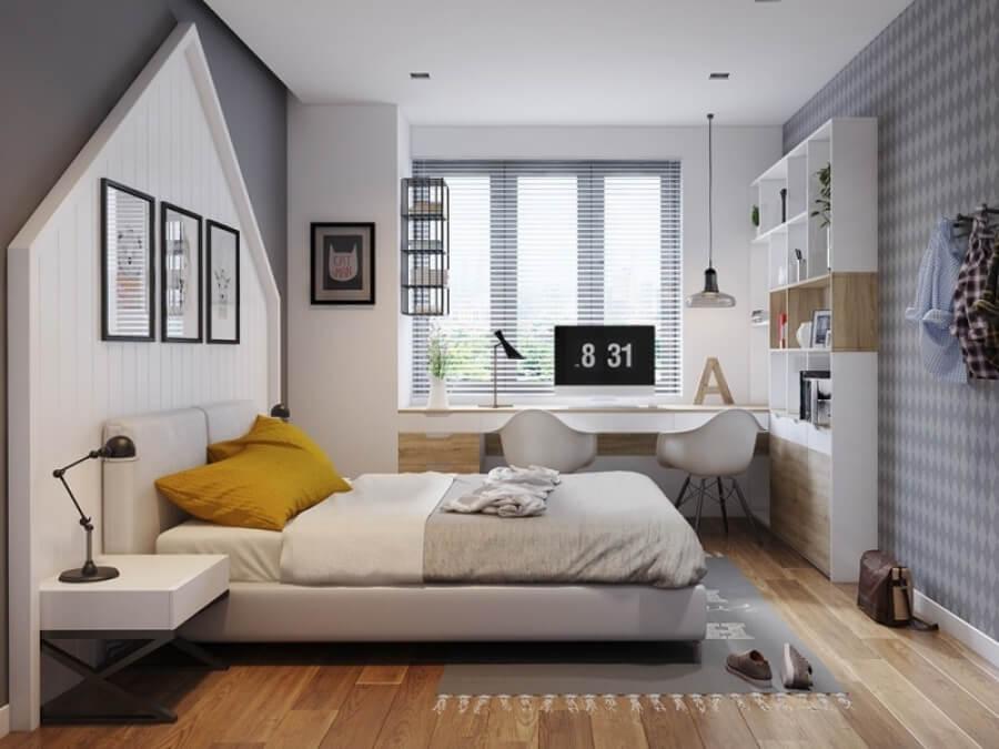 mẫu phòng ngủ đẹp cho nam
