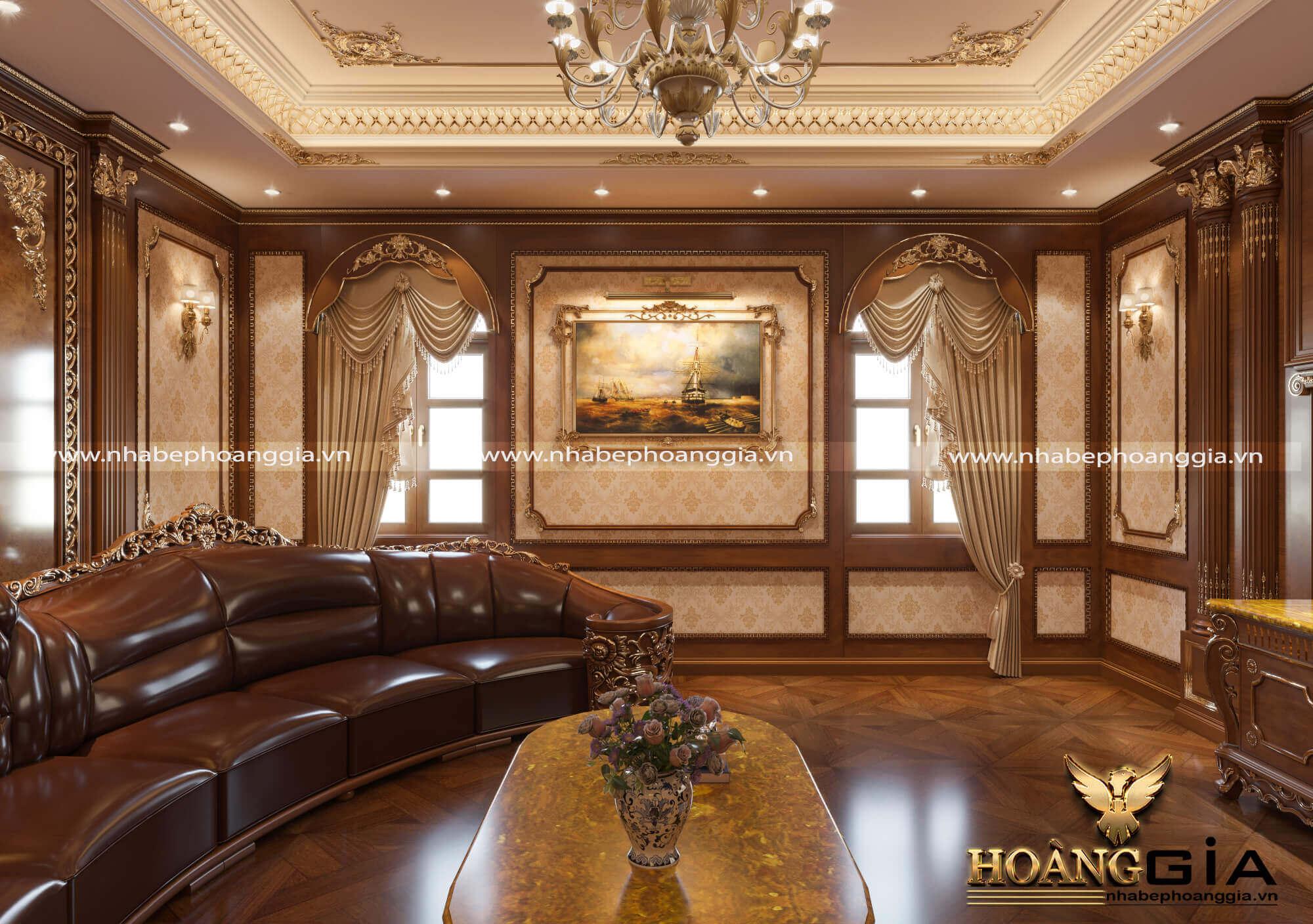 mẫu thiết kế nội thất phòng giải trí