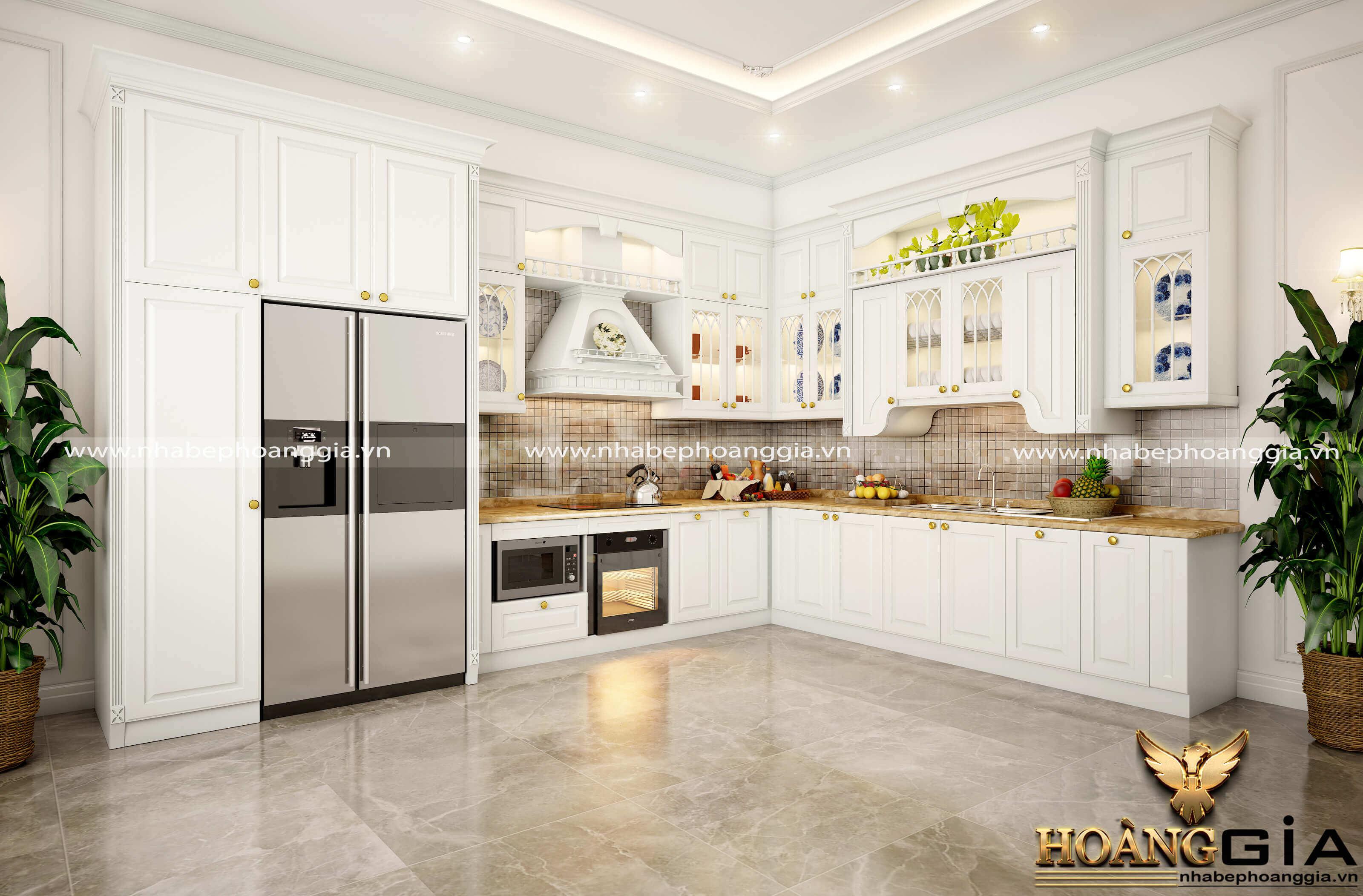 bố trí hướng tủ lạnh trong bếp