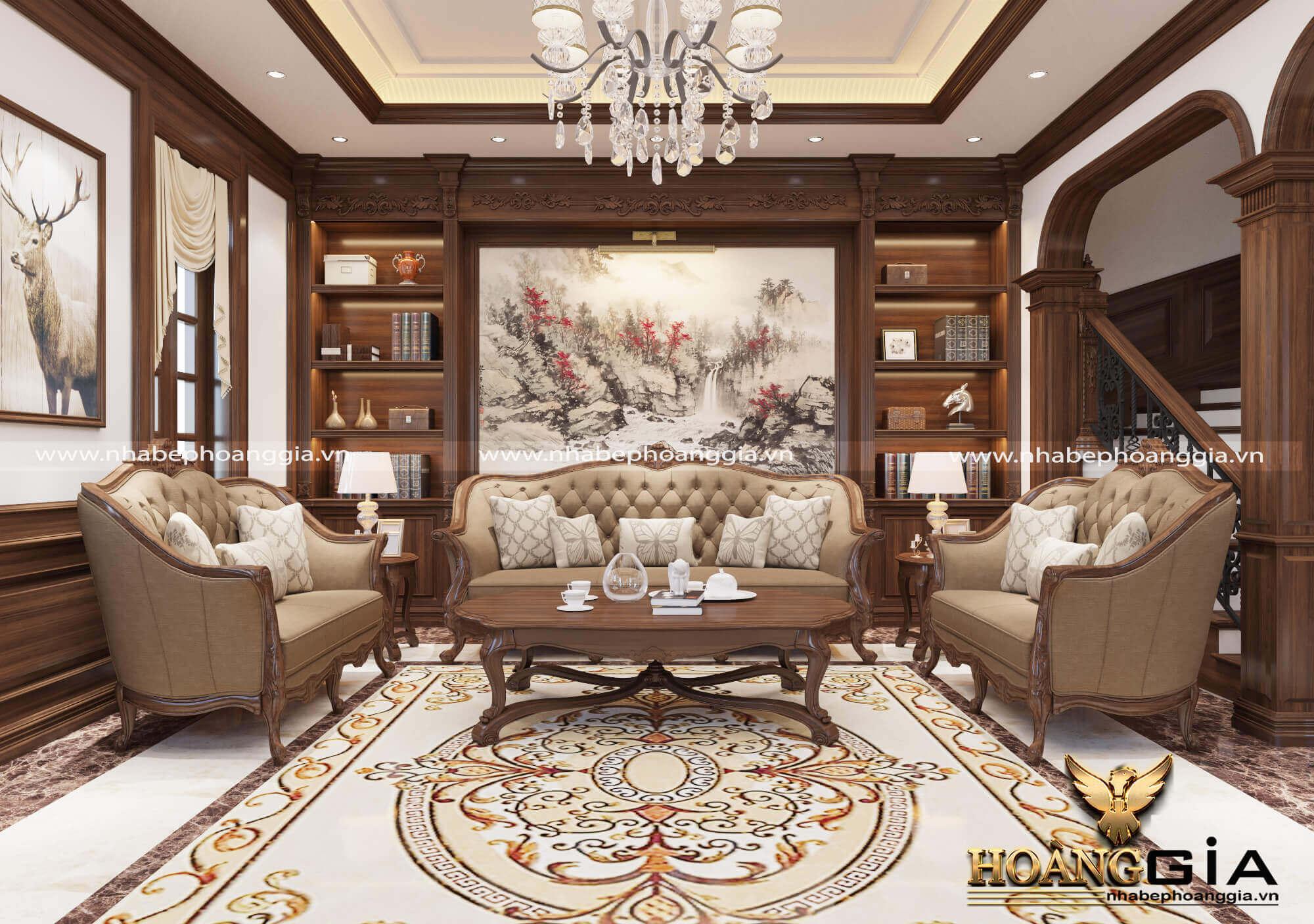 đồ trang trí nội thất tân cổ điển