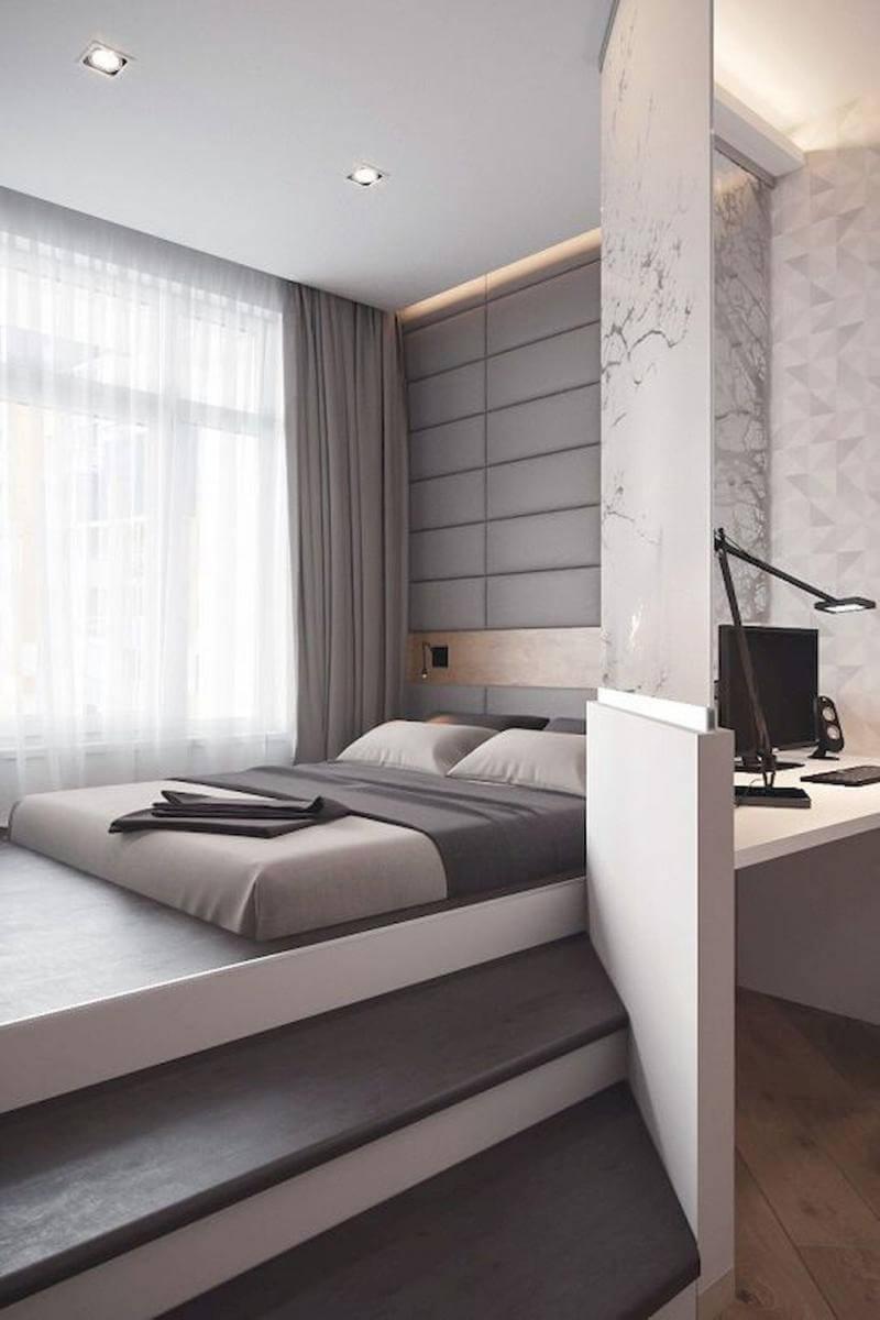 mẫu giường ngủ giật cấp đẹp