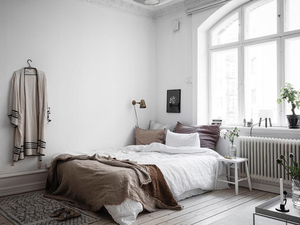 nới rộng không gian phòng ngủ nhỏ