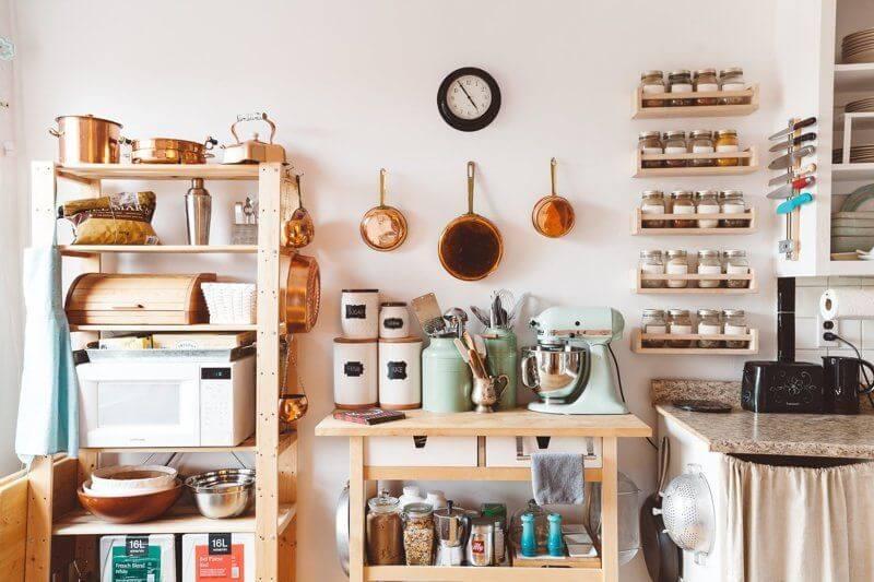thiết kế phòng bếp nhỏ