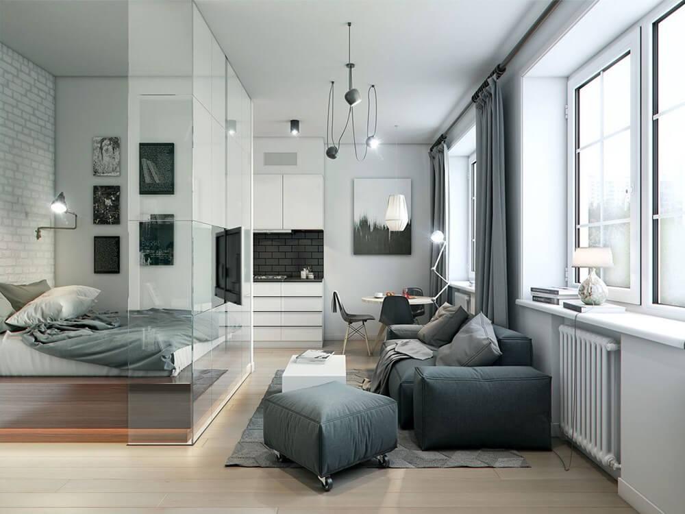 thiết kế phòng ngủ đẹp thoáng rộng